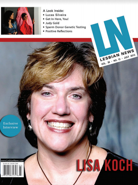 Lesbian News July 2013 Issue