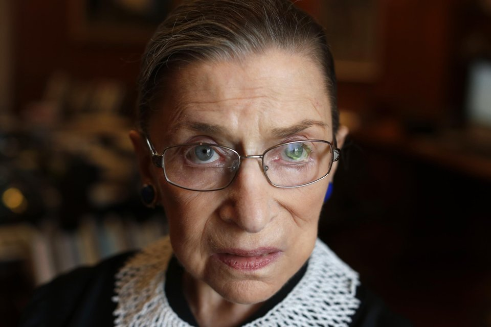 Supreme Court Justice Ruth Bader Ginsburg / AP Photo