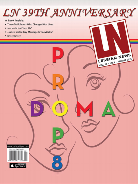 Lesbian News August 2013 Issue