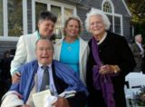 George H.W. Bush & Wedding Party