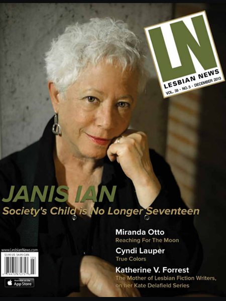 Lesbian News December 2013 Issue