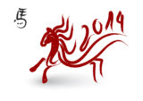 Chinese-New-Year-2014-Dragon-Horse-Wallpapers-HD-in-The-White-Backgrounds