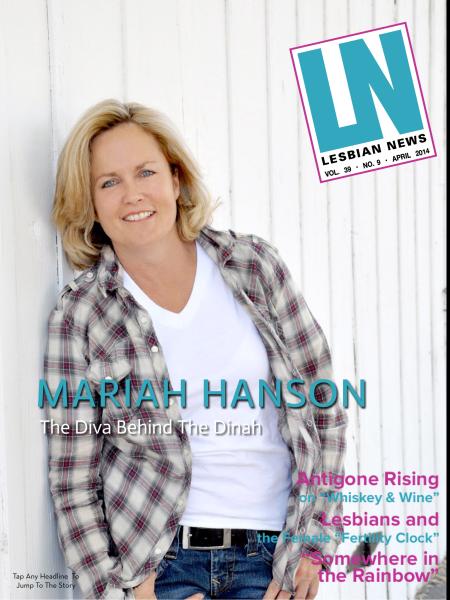 Lesbian News April 2014 Issue