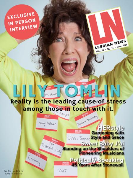 Lesbian News June 2014 Issue