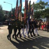Color Guard at DC Pride Parade