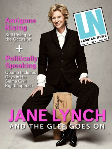 Lesbian News April 2015 Issue