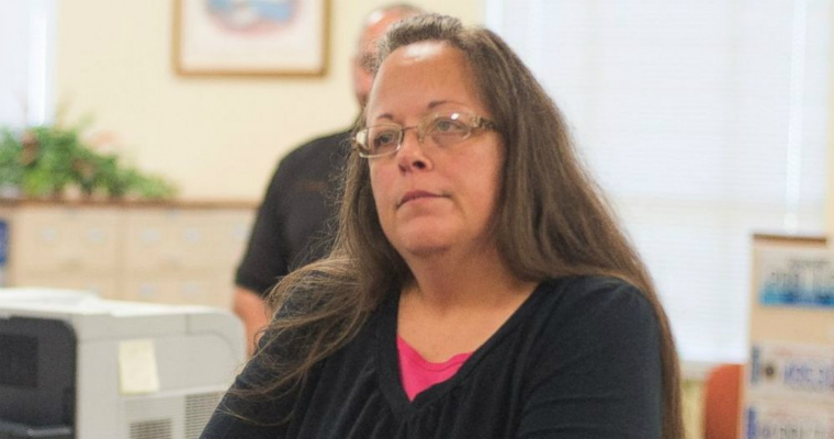 Westboro Church takes aim at Kim Davis