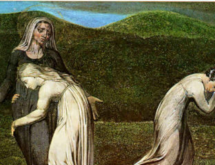 Ruth and Naomi William Blake