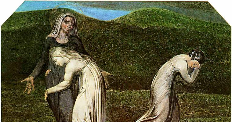 Ruth and Naomi William Blake