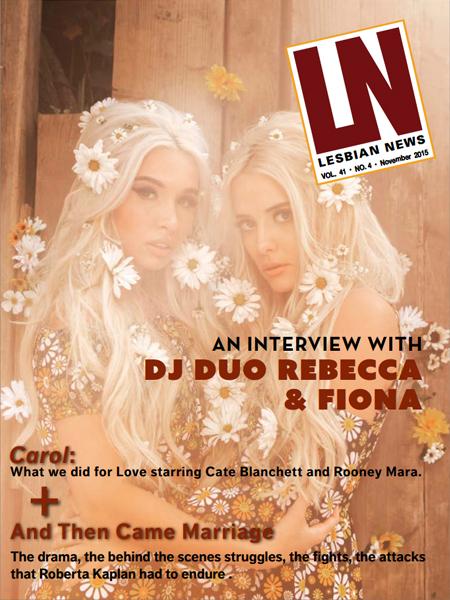Lesbian News November 2015 Issue