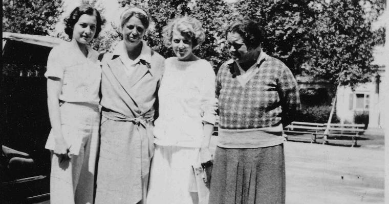Lorena Hickok and Eleanor Roosevelt