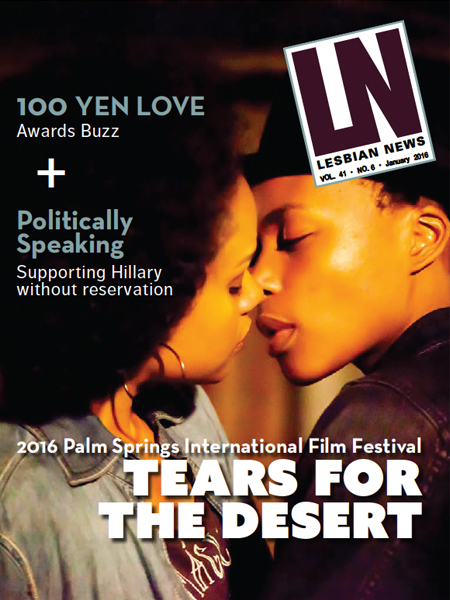 Lesbian News January 2016 Issue