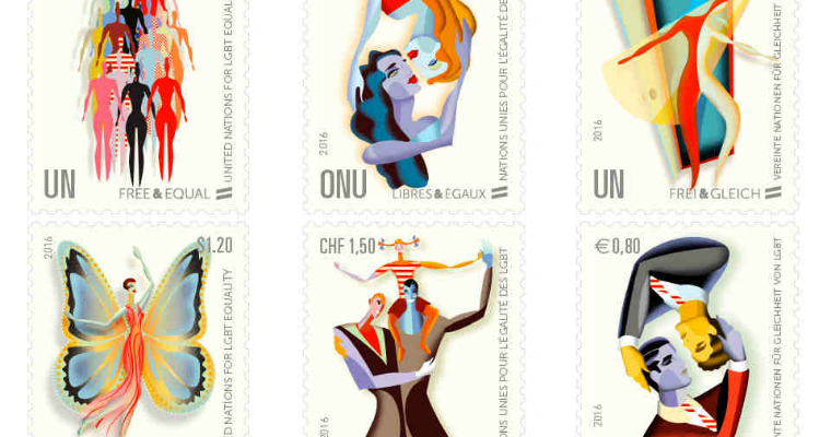 LGBT commemorative stamps