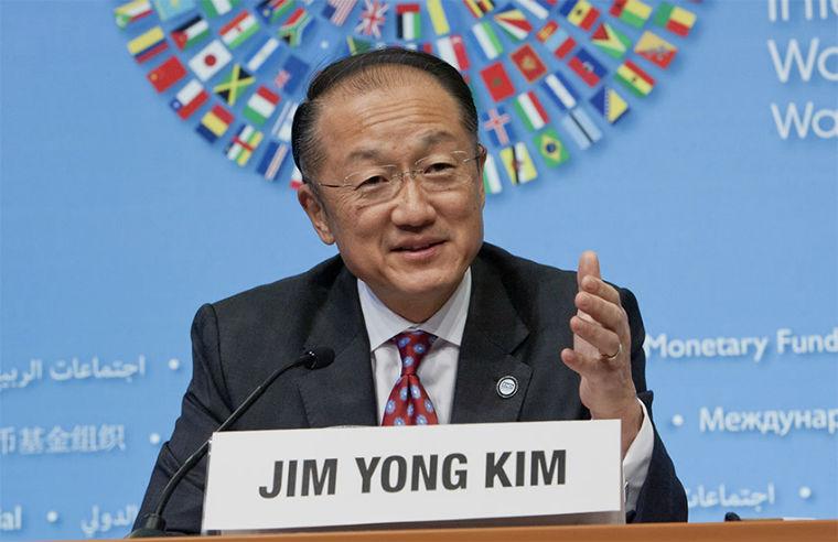 World Bank President Jim Yong Kim
