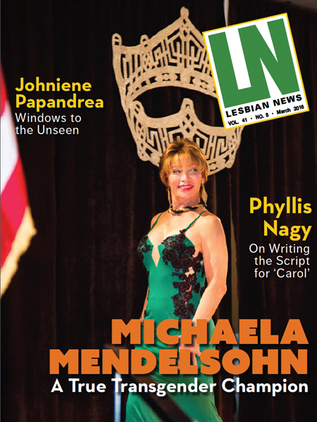 Lesbian News March 2016 Issue