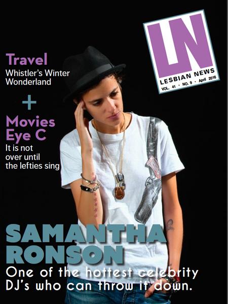 Lesbian News April 2016 Issue