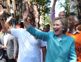 Hillary Clinton at NYC Pride