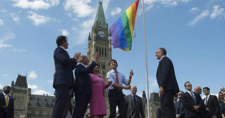 Pride Month - Canadian PM Justin Trudeau