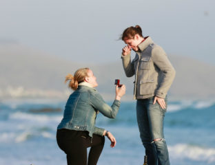 lesbian wedding proposal ideas