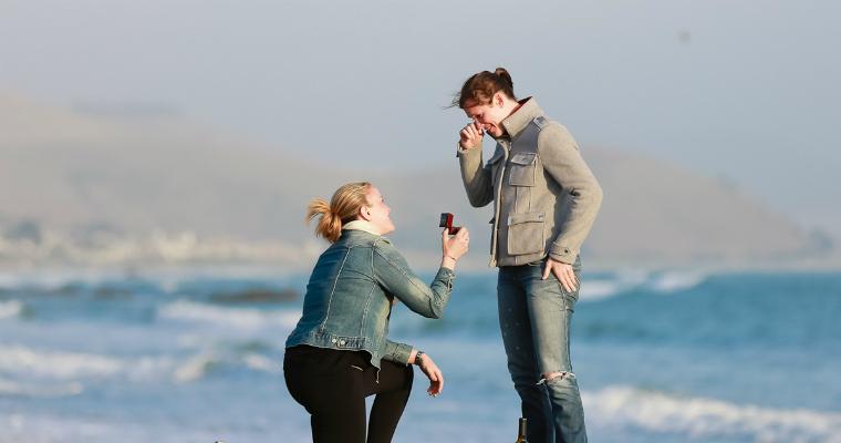 lesbian wedding proposal ideas