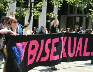 Bisexual public acceptance