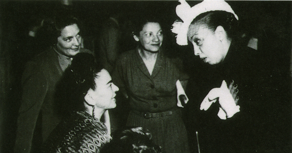 Frida Kahlo and Josephine Baker