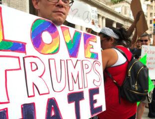LGBT response to Trump