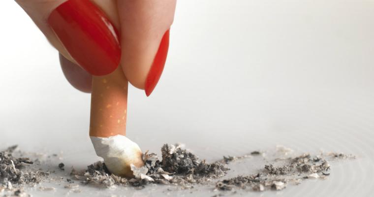 Quit smoking - lesbian resolutions