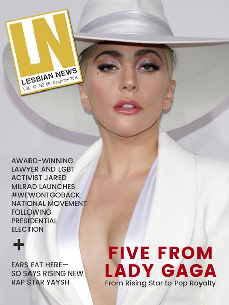 Lesbian News December 2016 Issue