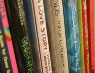 LGBTQ books - The Queer Library