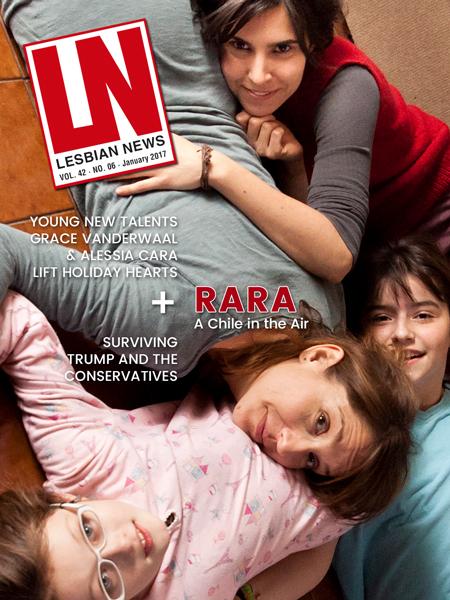 Lesbian News January 2017 Issue