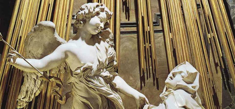 Lesbian nun - Ectasy of St Teresa - Bernini