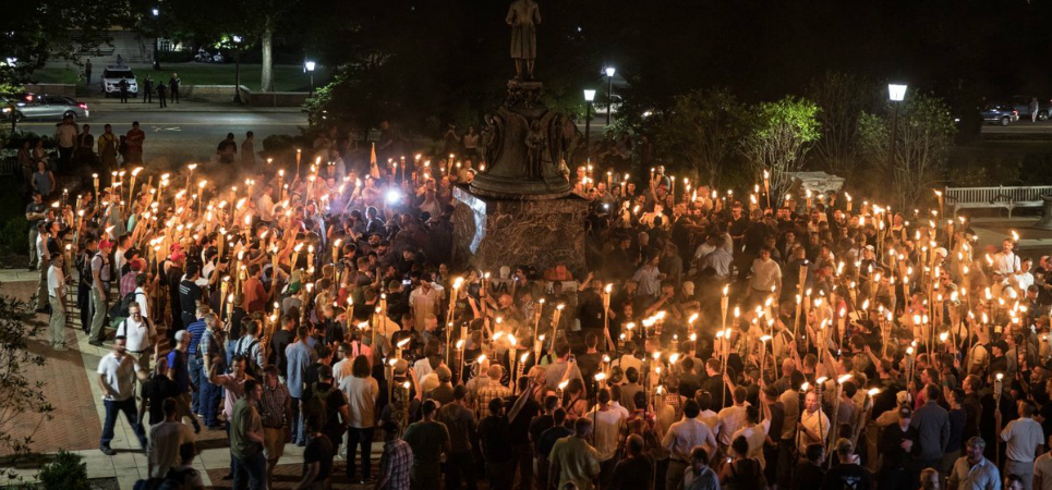 White nationalist rally
