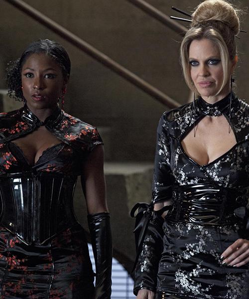 Halloween Costume - Tara and Pam