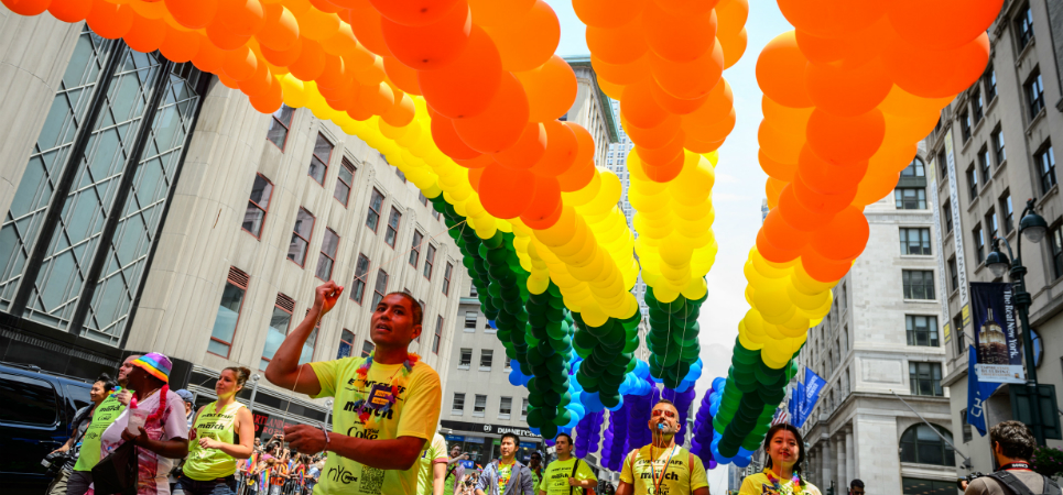 NYC LGBTQ Pride March