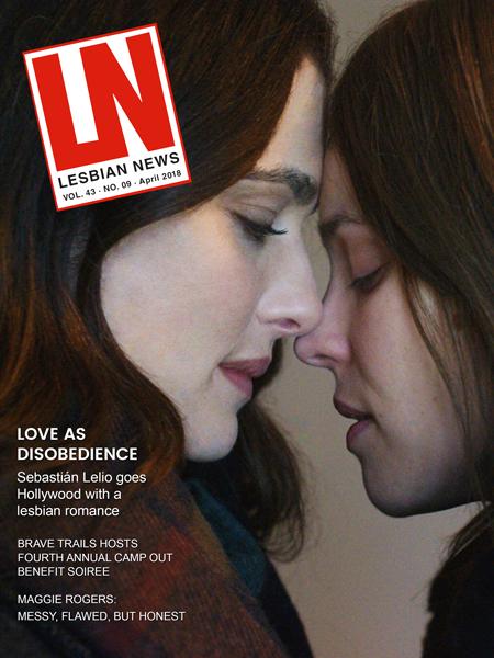 Lesbian News April 2018 Issue