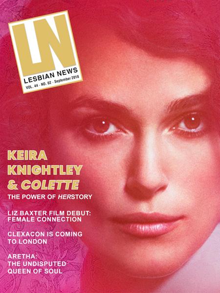 Lesbian News September 2018 Issue