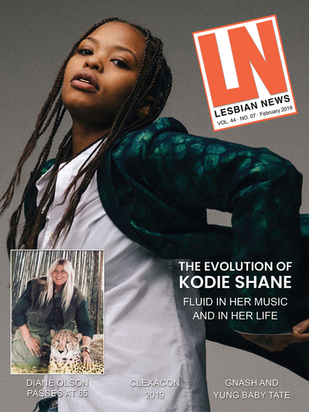 Lesbian News February 2019 Issue