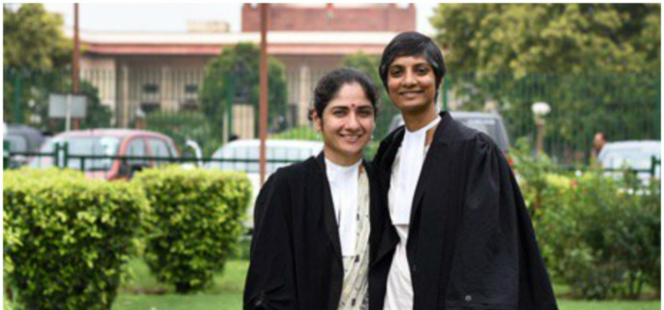 Menaka Guruswamy and Arundhati Katju