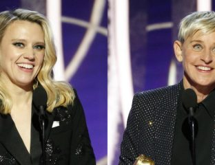 Golden Globes 2020 - Ellen DeGeneres Kate McKinnon