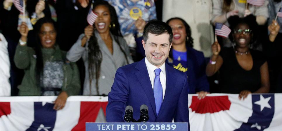 Iowa Caucus - Pete Buttigieg