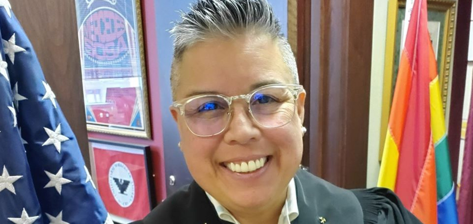 Lesbian judge - Rosie Speedlin Gonzalez