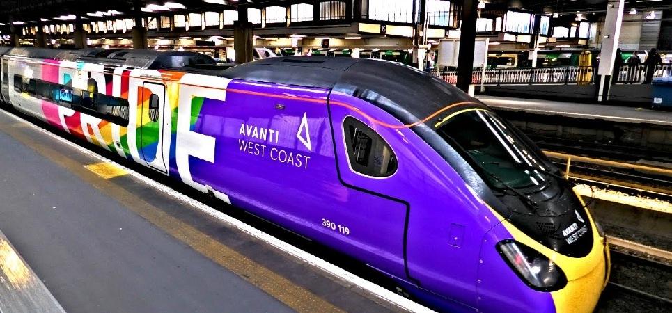 Pride train - UK
