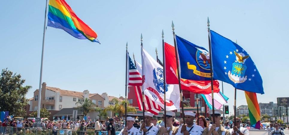 LGBT military veterans