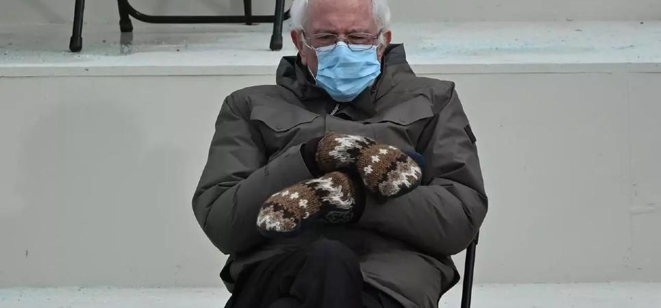 Bernie Sanders' mittens