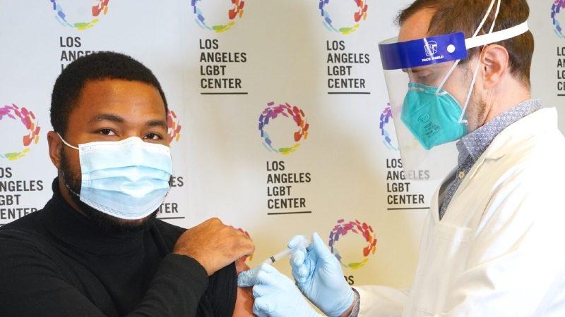 COVID-19 vaccine LA LGBT Center