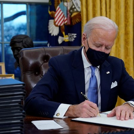 Biden issues executive order against LGBTQ workplace discrimination