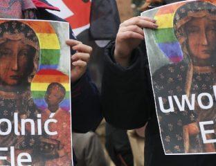 Polish LGBT activists