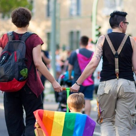 German lesbian parents go to court against civil code