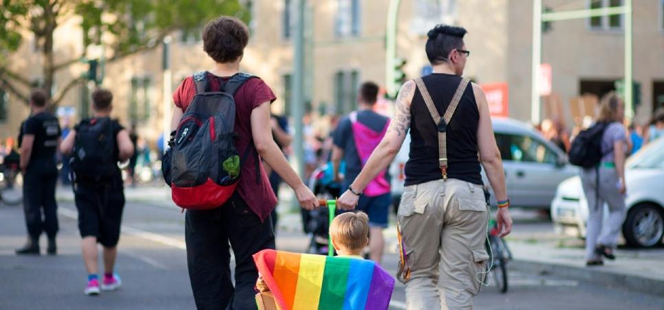 German lesbian parents